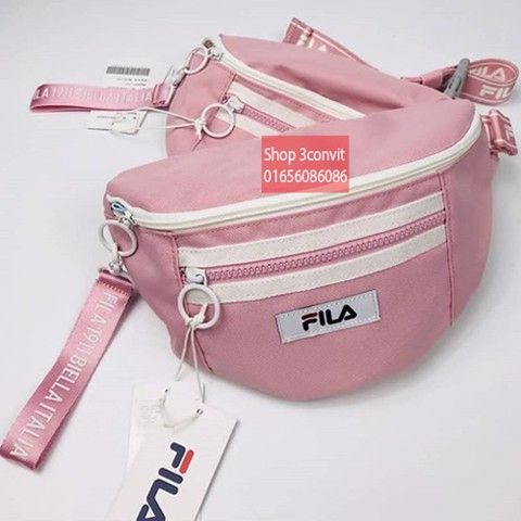 Fila Heritage Series White Waist Pouch