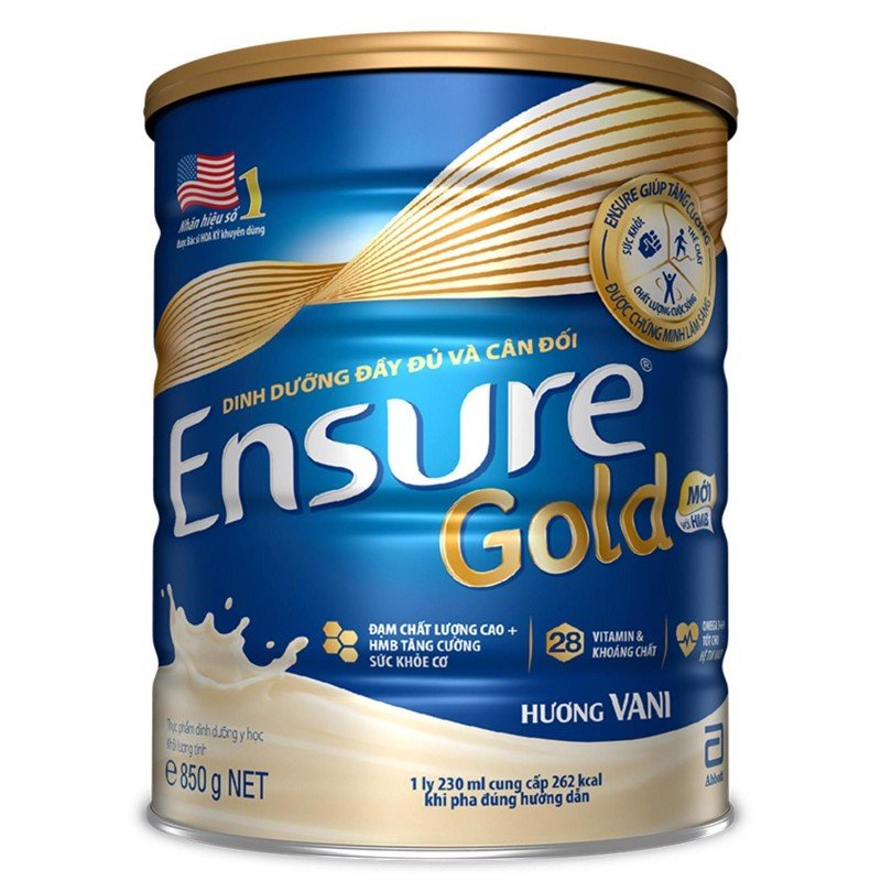 Ensure Gold Vani 850g