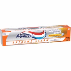 Aquafresh® Extreme Clean® Whitening Action