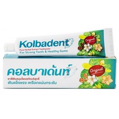 Kem đánh răng Kolbadent pure herbal extract toothpaste