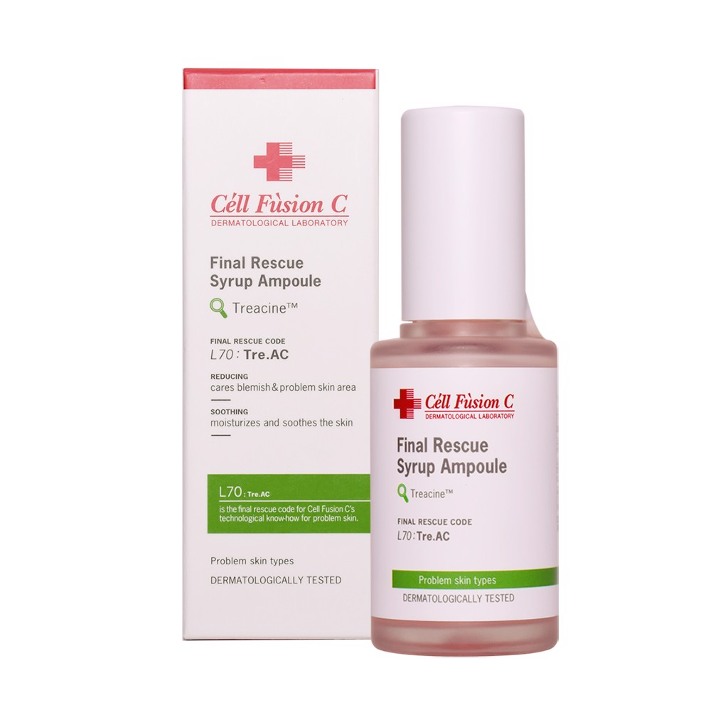 Tinh chất Cell Fusion C Final Rescue Syrup Ampoule 30ml