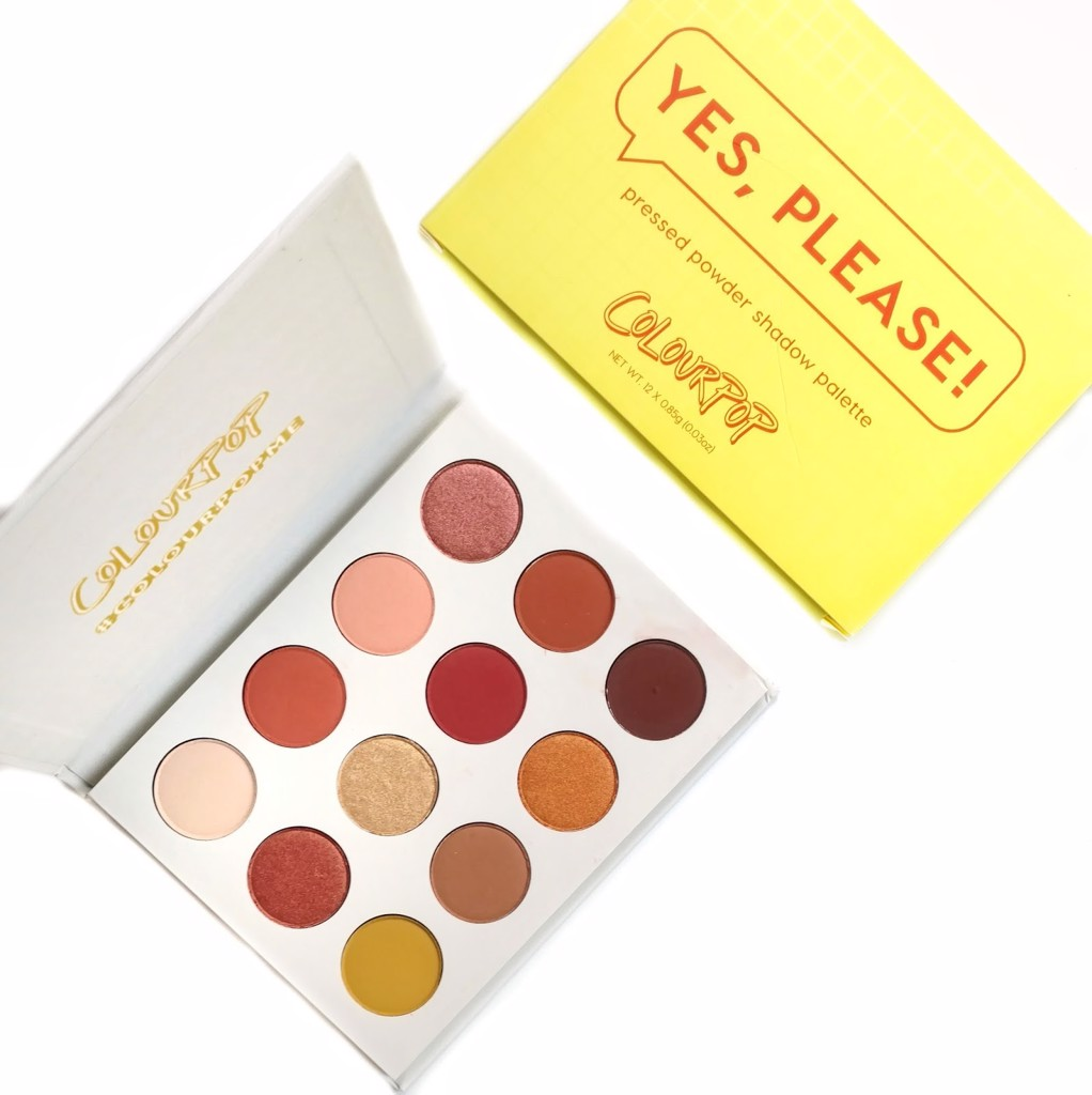 Bảng phấn mắt 12 ô ColourPop Yes, Please Eyeshadow Palette