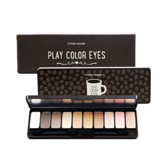 Bảng Phấn Mắt 10 Màu Etude House Play Color Eyes #In The Cafe