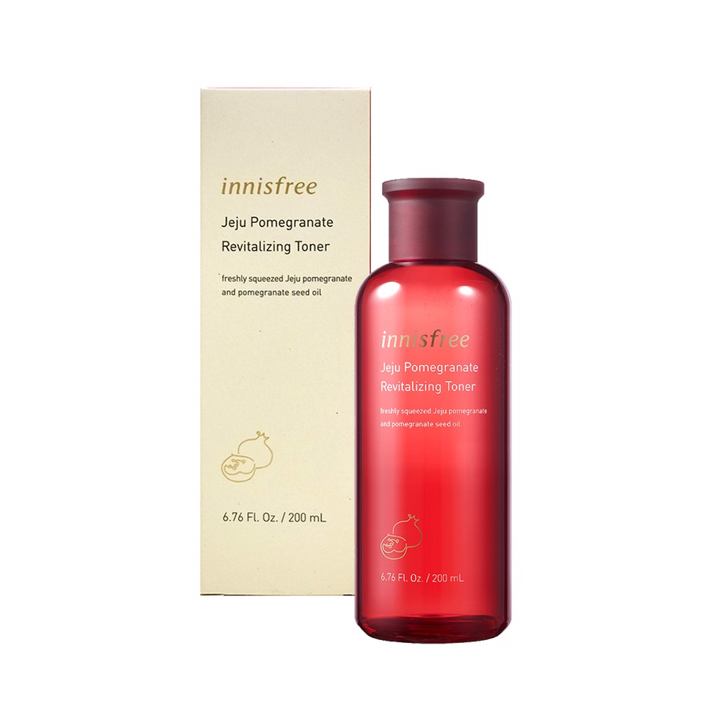 Nước hoa hồng Innisfree Jeju Pomegranate Revitalizing Toner 200ml NEW 2019