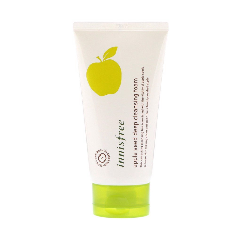 Sữa rửa mặt táo Innisfree Apple Seed Deep Cleansing Foam 150ml