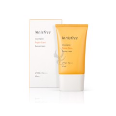 Kem Chống Nắng Innisfree Intensive Triple Care Sunscreen Spf 50 Pa++++ 50ml New 2019