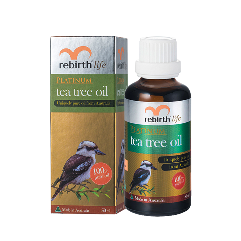 Tinh dầu tràm trà Lanopearl Rebirth Life Platinum Tea Tree Oil 10ml