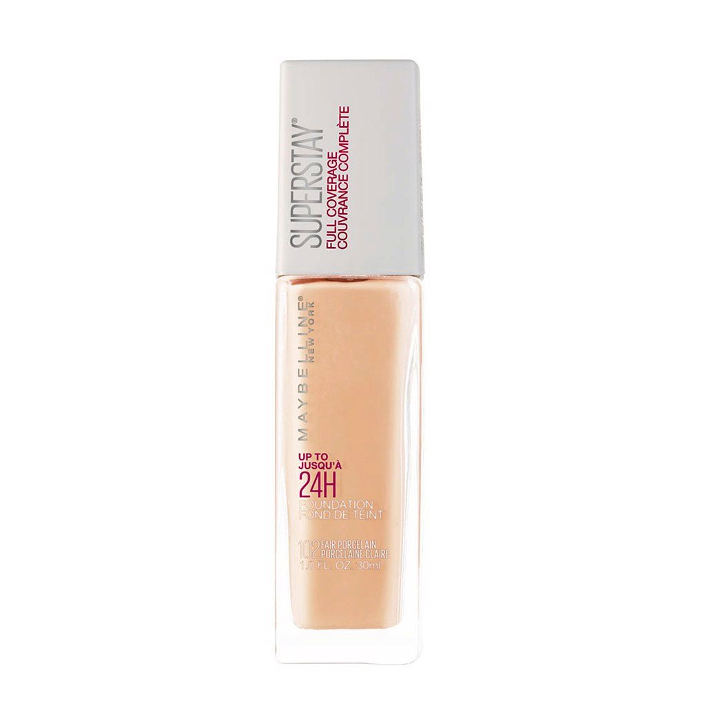 Kem nền Maybelline Superstay Full Coverage Foundation 30ml No.102