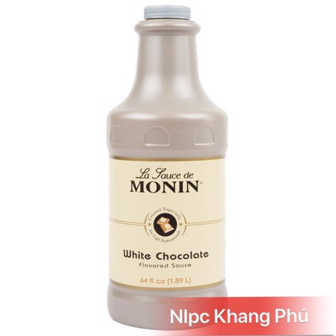 Monin White Chocolate (1,89L)