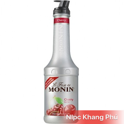 Mứt Cherry Monin 1L