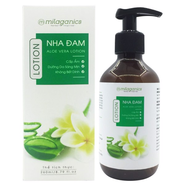 MP056 - LOTION NHA ĐAM MILAGANICS 260ML
