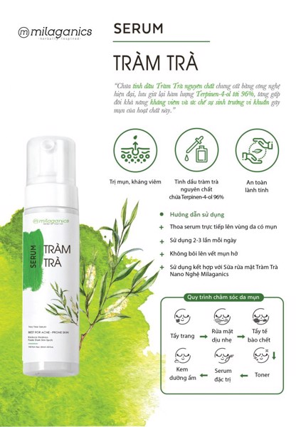 MP065 - SERUM TRÀM TRÀ MILAGANICS 30ML