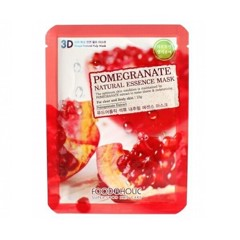 Sample Mặt Nạ 3D Lựu Pomegranate Natural Essence Mask Foodaholic