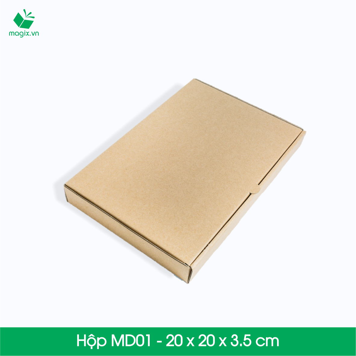 Hộp MD01 - 20 x 20 x 3.5 cm