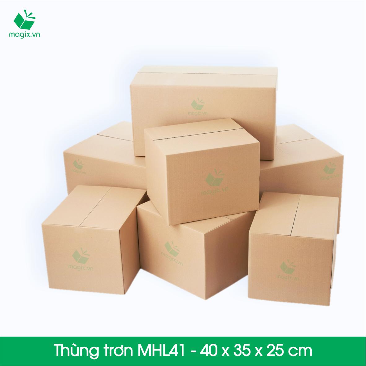 Các loại thùng carton trơn tại Magix