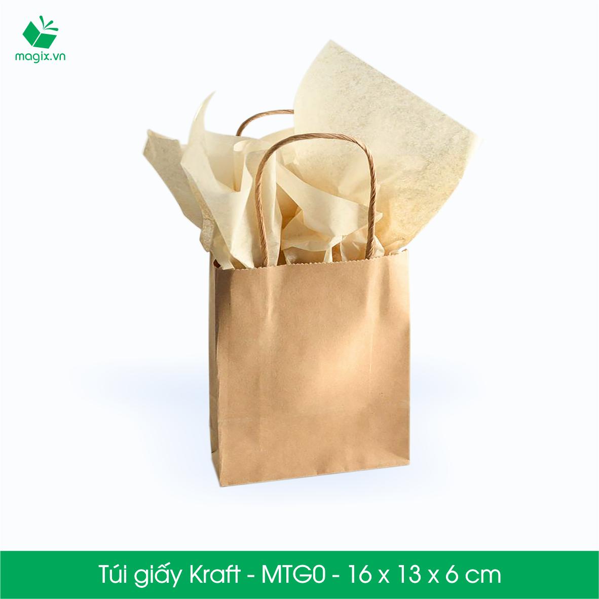 Túi giấy kraft thân thiện với môi trường lẫn sức khỏe người dùng