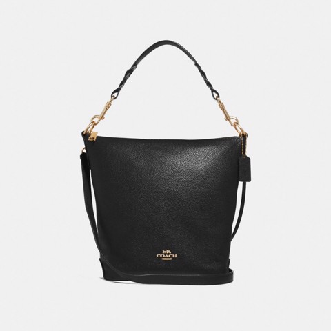 Túi COACH ABBY DUFFLE SHOULDER BAG F31507 BLACK-IMITATION GOLD