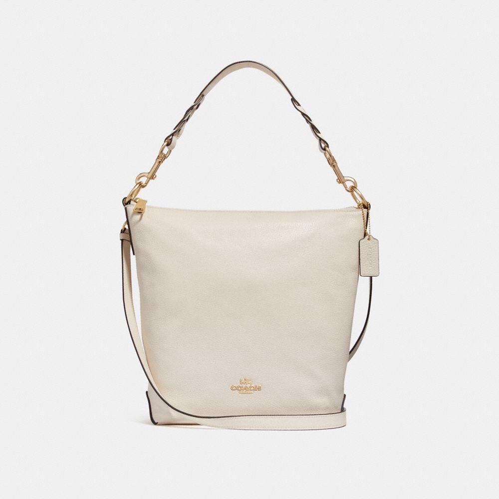 Túi COACH ABBY DUFFLE SHOULDER BAG F31507 CHALK-IMITATION GOLD