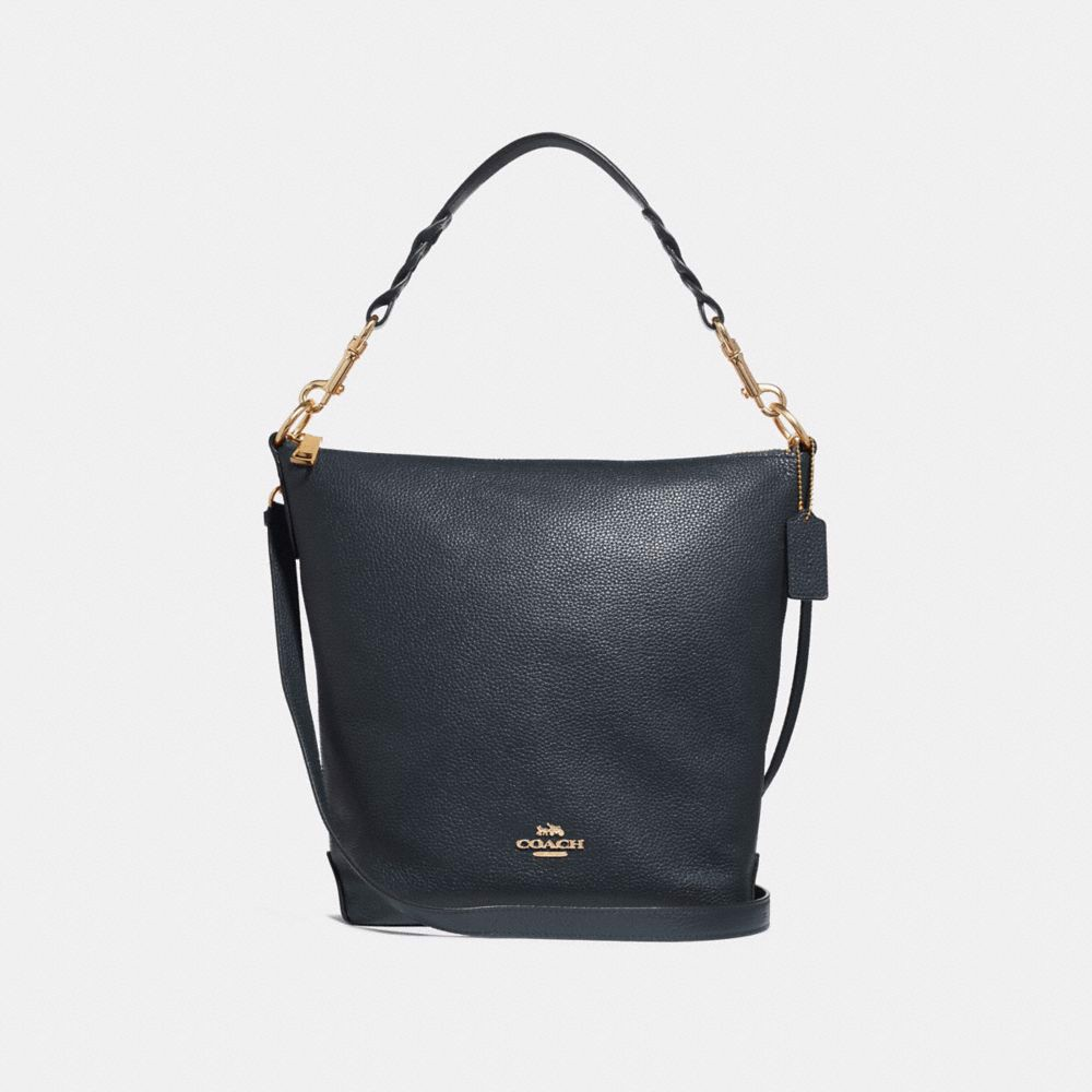 Túi COACH ABBY DUFFLE SHOULDER BAG F31507 MIDNIGHT-IMITATION GOLD