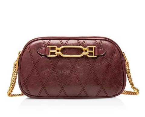TÚI BALLY Venni Mini Quilted Leather Camera Bag