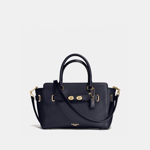 Túi COACH BLAKE CARRYALL 25 F55665 MIDNIGHT-IMITATION GOLD