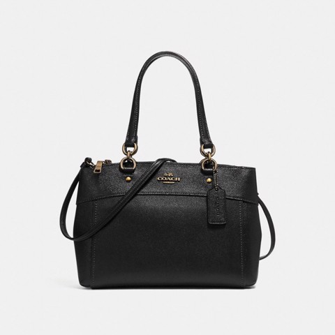 Túi COACH BROOKE CARRYALL F25397 BLACK-IMITATION GOLD