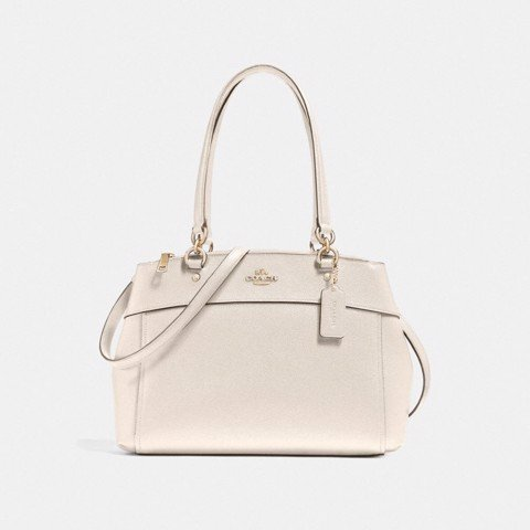 Túi COACH BROOKE CARRYALL F25397 CHALK-IMITATION GOLD