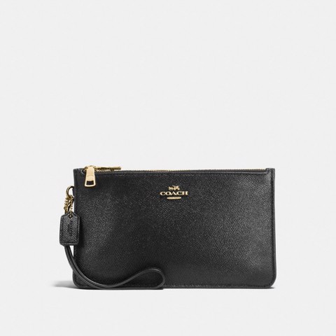 Túi COACH CROSBY CLUTCH F12081 BLACK-IMITATION GOLD