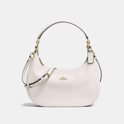Túi COACH EAST-WEST HARLEY HOBO F38250 CHALK-IMITATION GOLD
