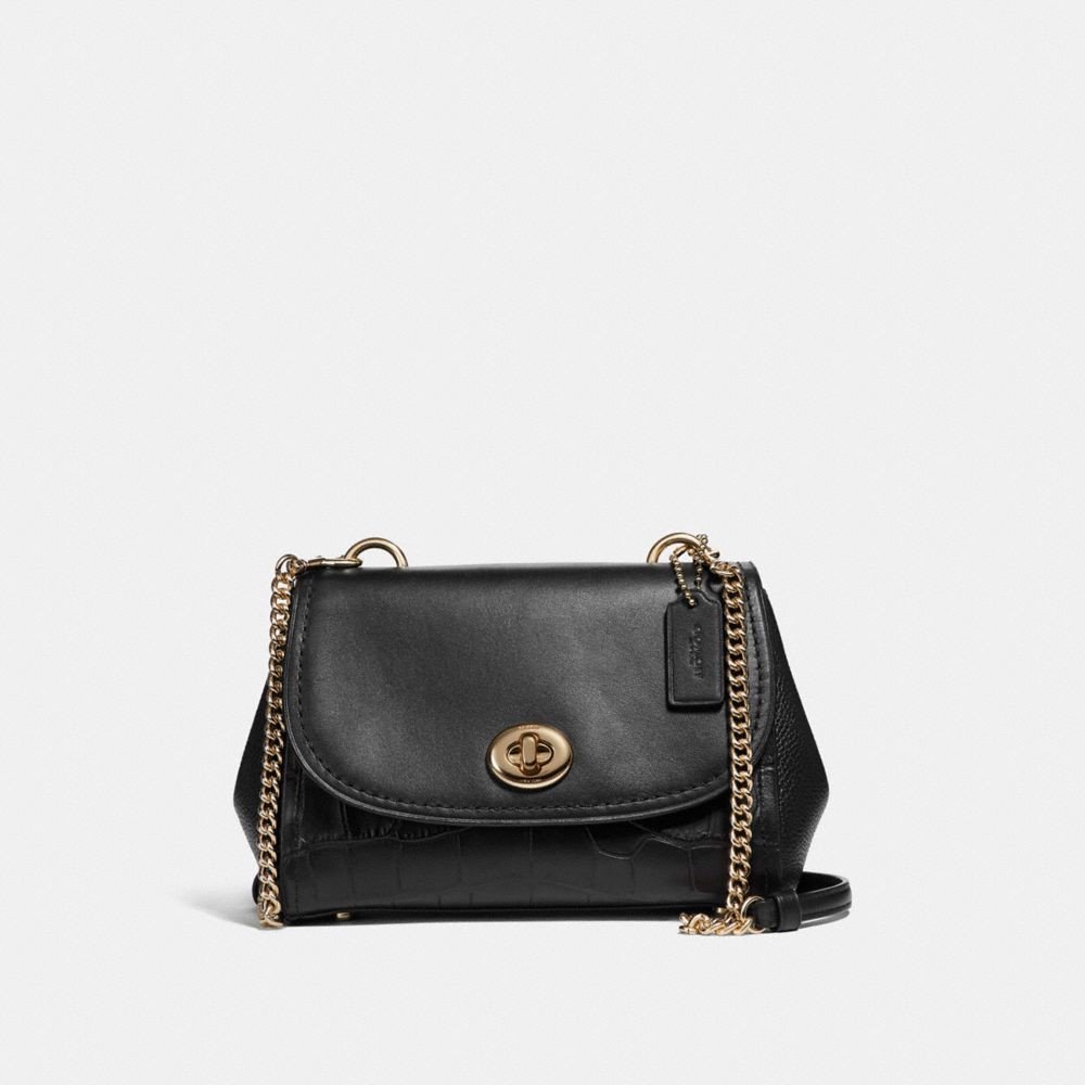 Túi COACH FAYE CROSSBODY F26145 BLACK-IMITATION GOLD
