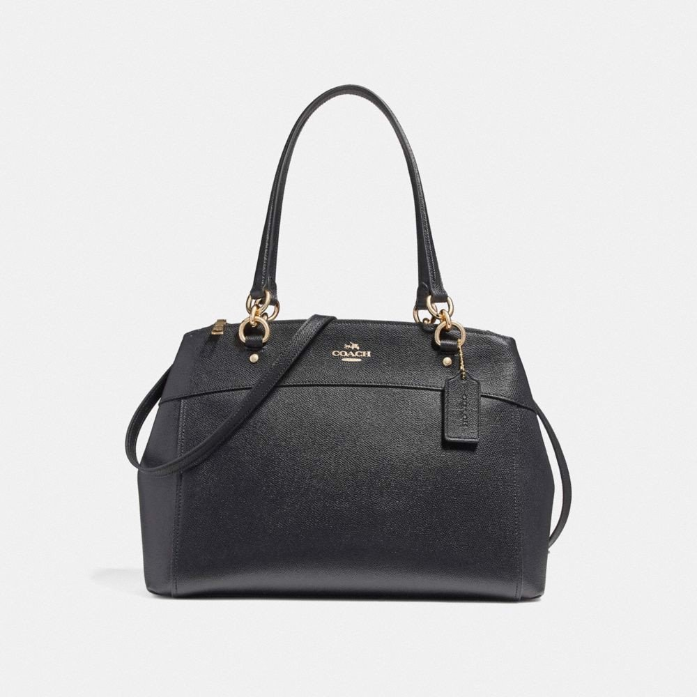 Túi COACH LARGE BROOKE CARRYALL F25926 BLACK-IMITATION GOLD
