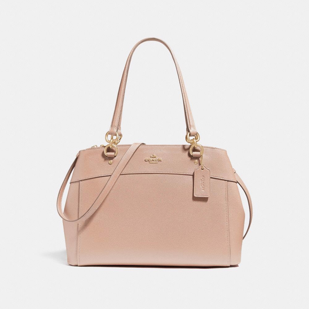 Túi COACH LARGE BROOKE CARRYALL F25926 nude pink-imitation gold