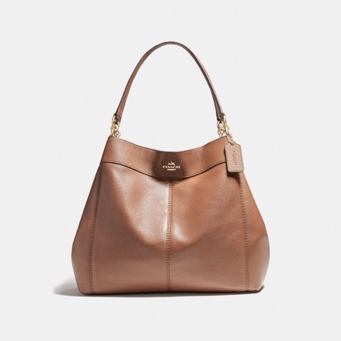 Túi COACH LARGE LEXY SHOULDER BAG F23511 saddle 2-imitation gold