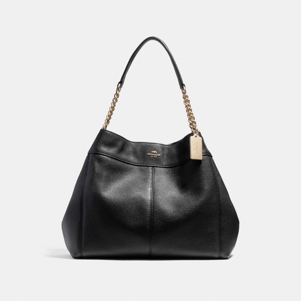 Túi COACH LEXY CHAIN SHOULDER BAG F22210 BLACK-IMITATION GOLD