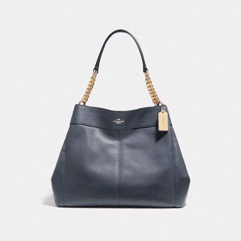 Túi COACH LEXY CHAIN SHOULDER BAG F27594 MIDNIGHT-IMITATION GOLD
