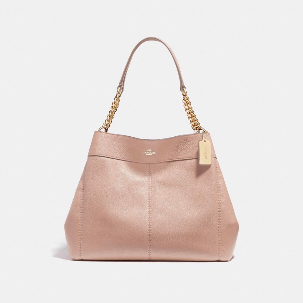 Túi COACH LEXY CHAIN SHOULDER BAG F27594 nude pink-imitation gold
