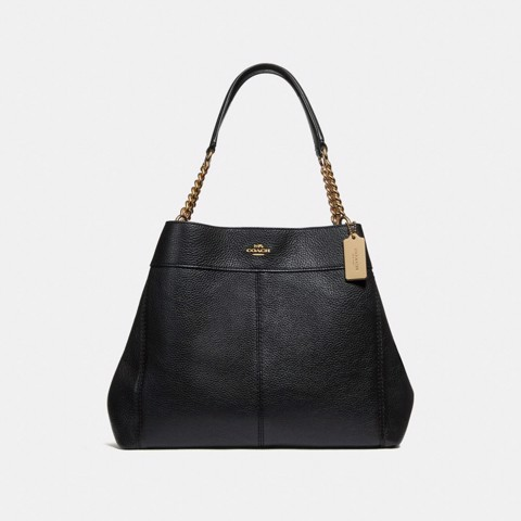 Túi COACH LEXY CHAIN SHOULDER BAG F28998 BLACK-IMITATION GOLD