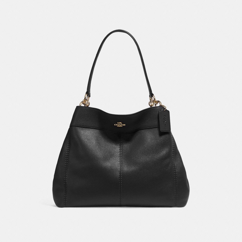 Túi COACH LEXY SHOULDER BAG F27593 BLACK-IMITATION GOLD