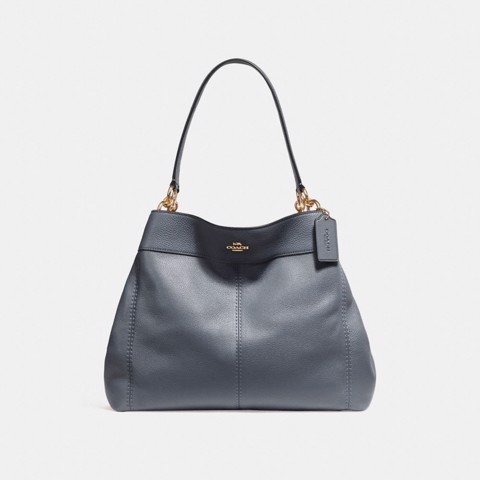 Túi COACH LEXY SHOULDER BAG F27593 MIDNIGHT-IMITATION GOLD
