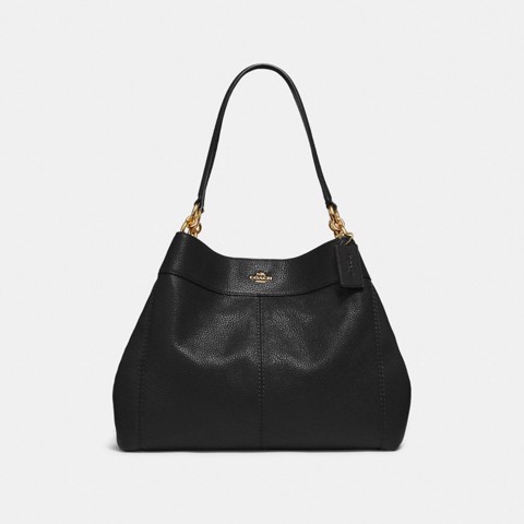 Túi COACH LEXY SHOULDER BAG F28997 BLACK-IMITATION GOLD