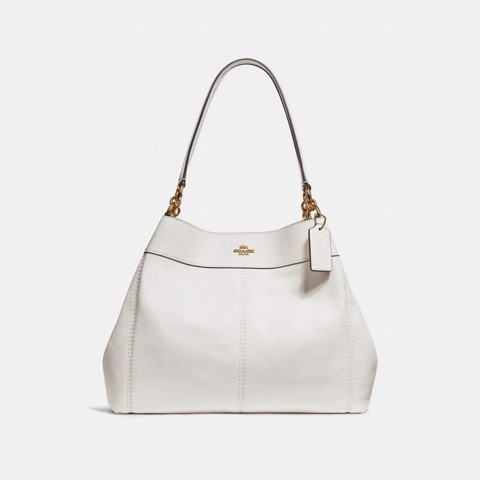 Túi COACH LEXY SHOULDER BAG F28997 CHALK-IMITATION GOLD