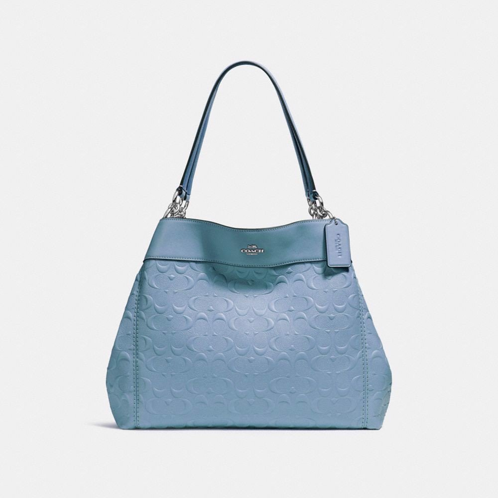 Túi COACH LEXY SHOULDER BAG IN SIGNATURE LEATHER F25954 SILVER-POOL
