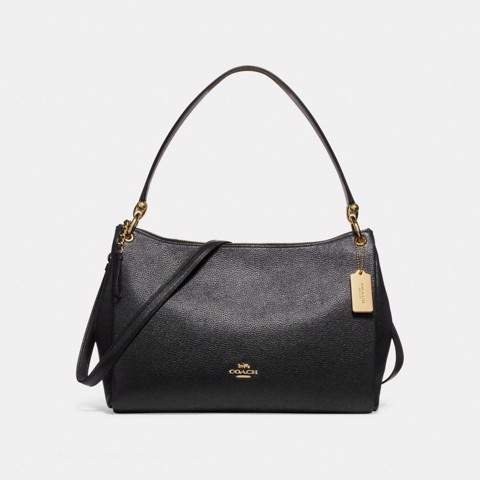 Túi COACH MIA SHOULDER BAG F28966 BLACK-IMITATION GOLD