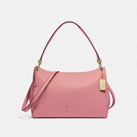 Túi COACH MIA SHOULDER BAG F28966 Vintage Pink-LIGHT GOLD