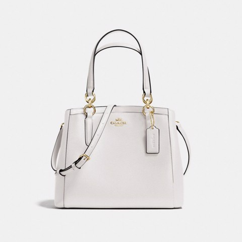Túi COACH MINETTA CROSSBODY F57847 CHALK-IMITATION GOLD