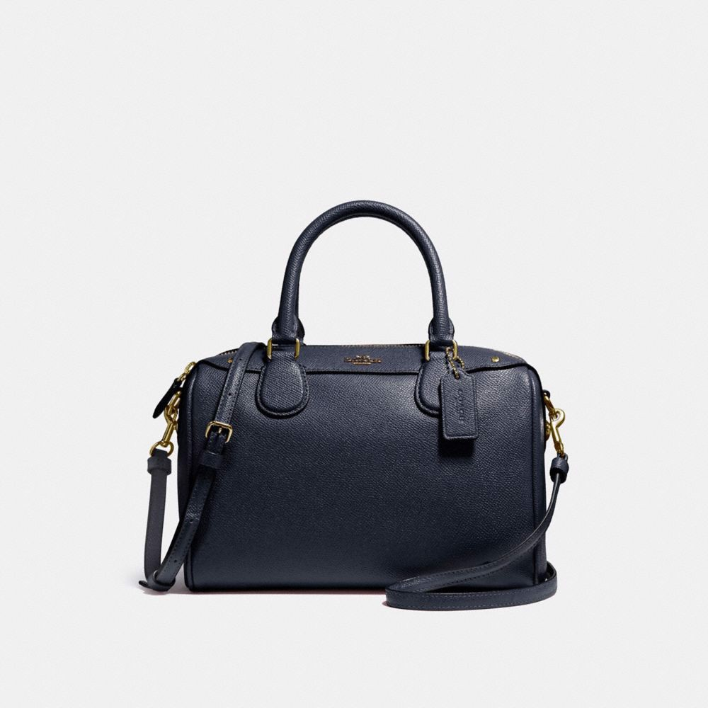 Túi COACH MINI BENNETT SATCHEL F57521 MIDNIGHT-IMITATION GOLD