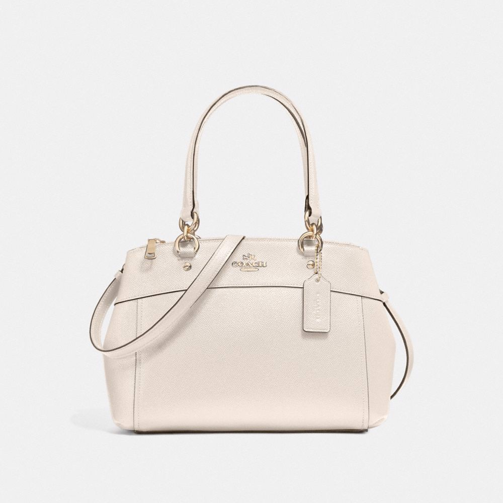 Túi COACH MINI BROOKE CARRYALL F25395 CHALK-IMITATION GOLD