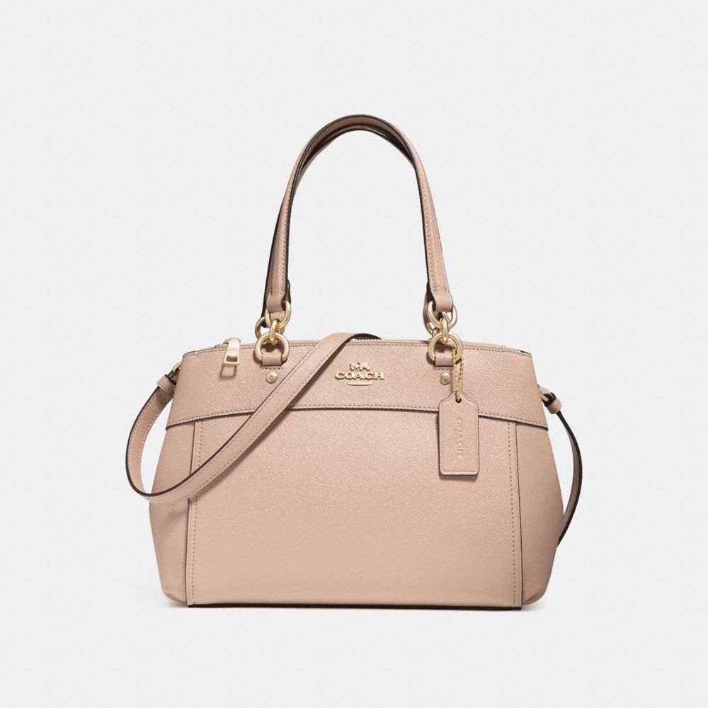 Túi COACH MINI BROOKE CARRYALL F31251 nude pink-imitation gold