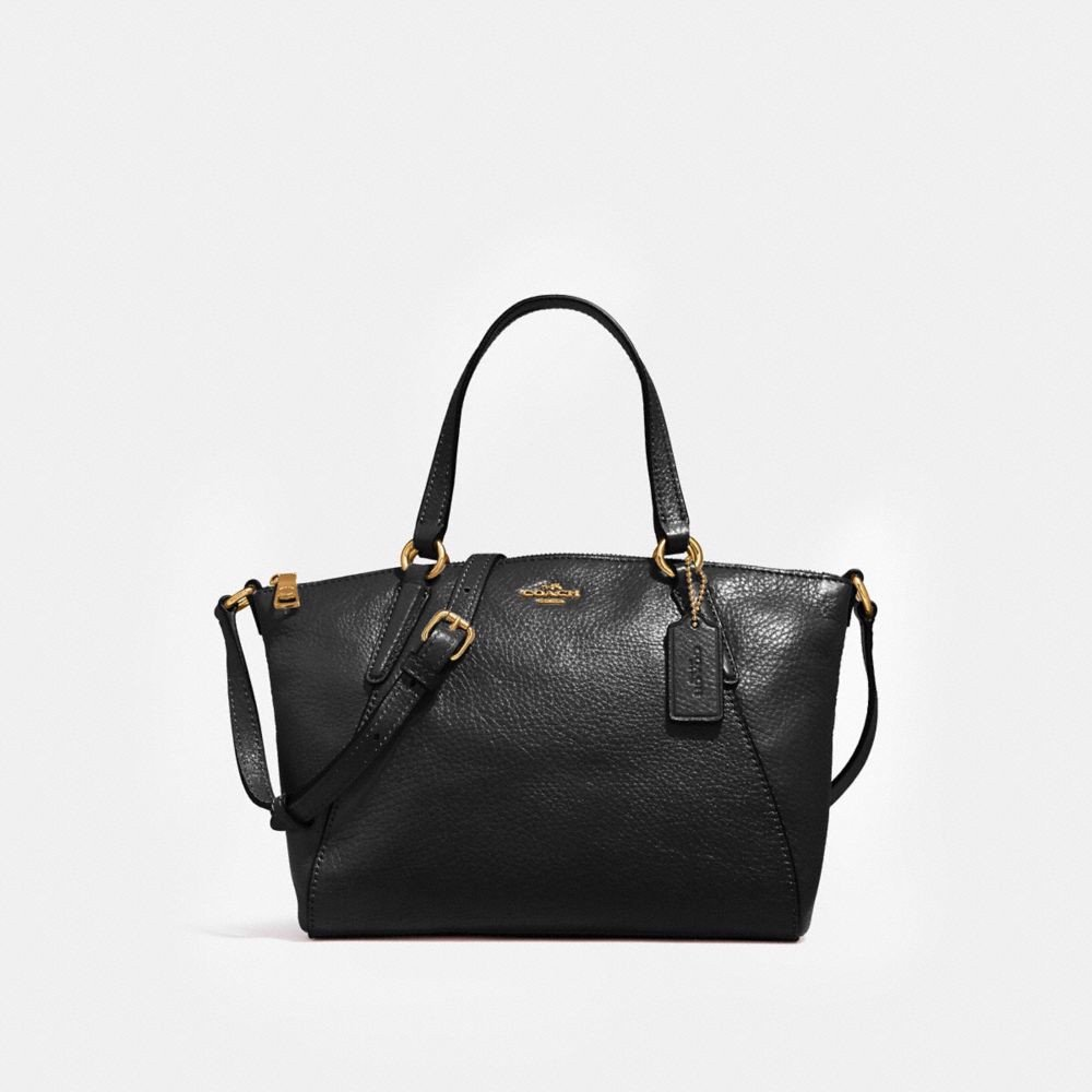 Túi COACH MINI KELSEY SATCHEL F27596 BLACK-IMITATION GOLD