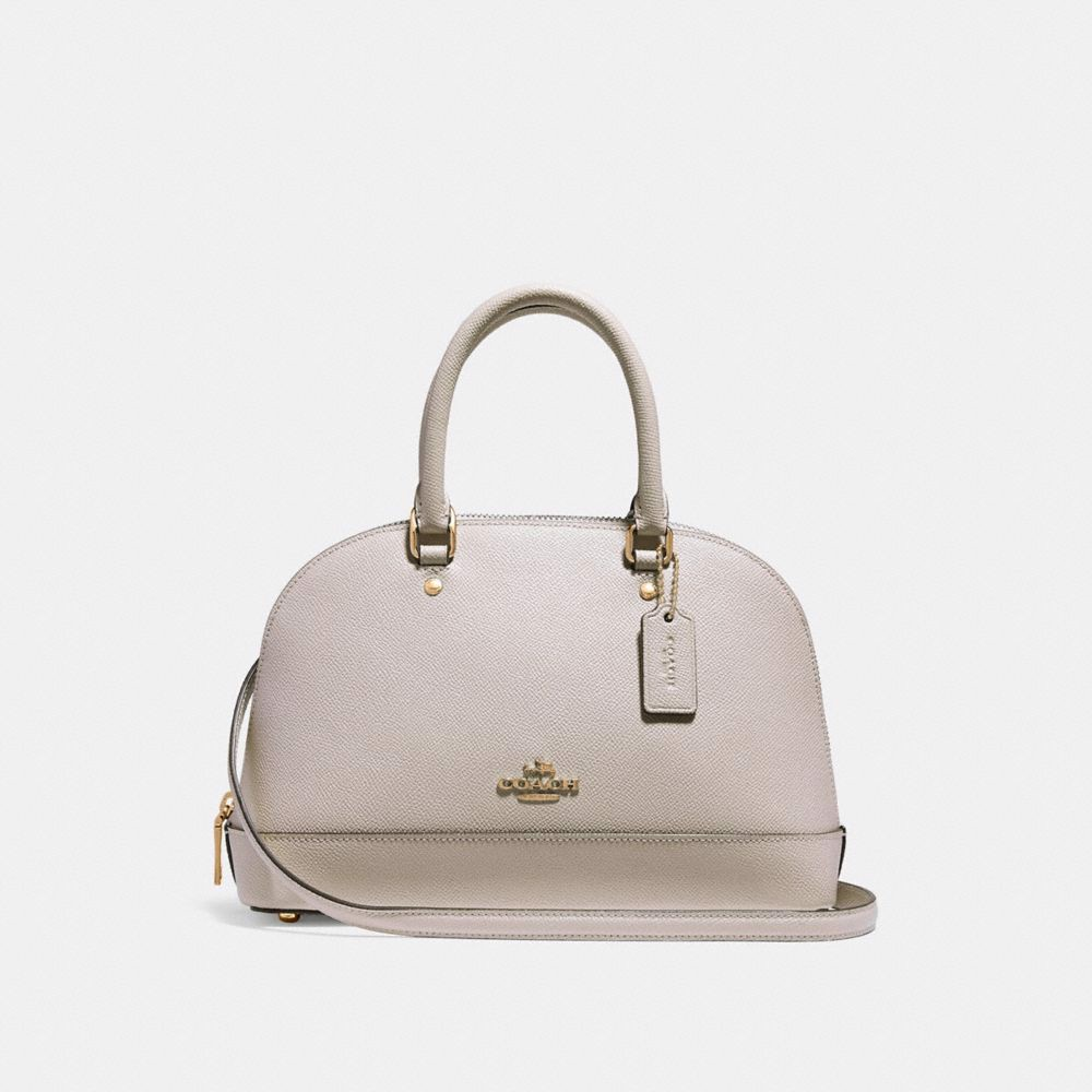 Túi COACH MINI SIERRA SATCHEL F27591 CHALK-IMITATION GOLD